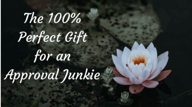 The 100% Perfect Gift for an Approval Junkie