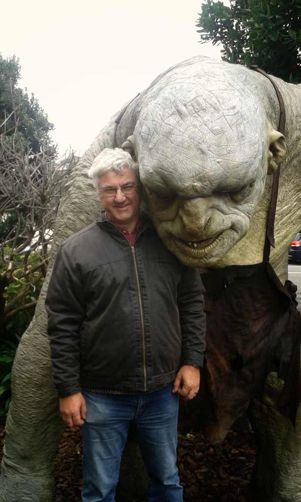 A weekend in Wellington and a Visit to Weta Workshop to make new friends